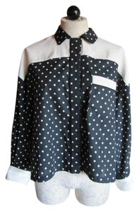 Antonio Marras Top Black White