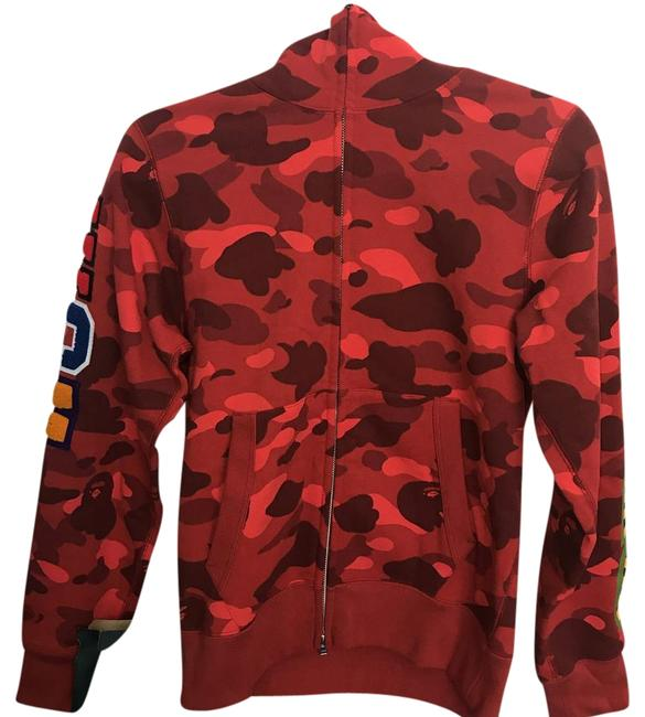 Item - Red Camo. Sweater