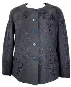 Moschino Couture Embroidered BLACK Blazer