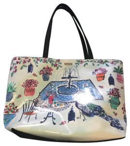 Kate Spade Tote in Multi, mostly blue