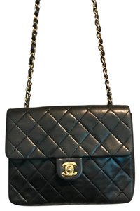 CHANEL CLASSIC FLAP MINI LAMBSKIN Cross Body Bag