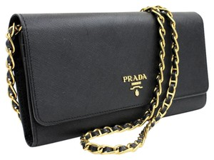 905c7840aad1 Prada Chain Bags & Accessories - Up to 70% off at Tradesy