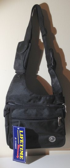 Everest Nwt Messenger Travel New Black Messenger Bag