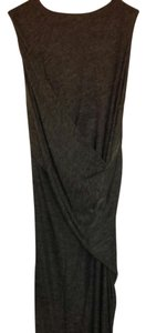 Gray Maxi Dress by T by Alexander Wang