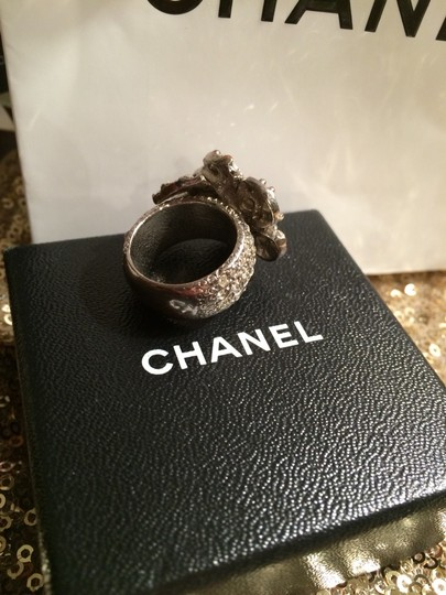 Chanel CHANEL CAMELLIA RING 6.5