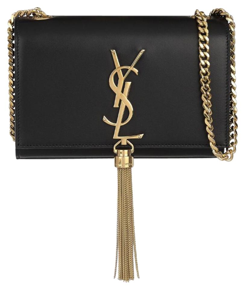 dca4d7f5c49f Saint Laurent Monogram Kate Monogram Tassel Small Chain Cross Body ...