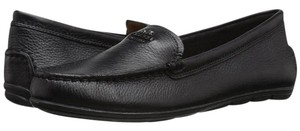 Coach Loafer Leather Black Flats
