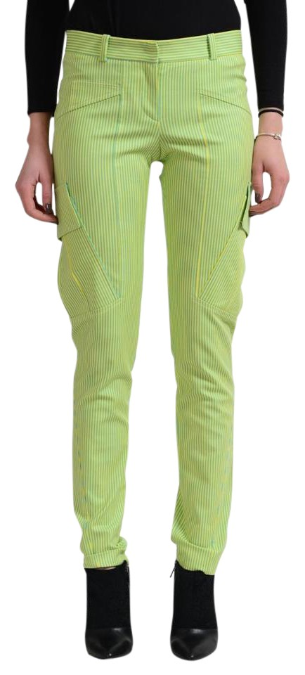 8d7c2da66b74 Versace Multi-color Women's Striped Pants Size 0 (XS, 25) - Tradesy