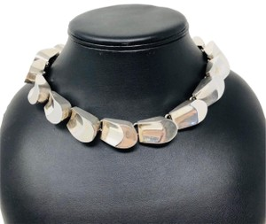 TAXCO TAXCO 222.3g sterling silver collar necklace