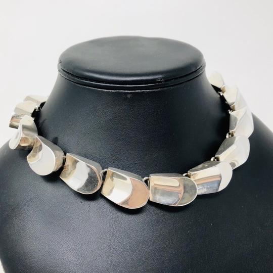 TAXCO TAXCO 222.3g sterling silver collar necklace Image 1