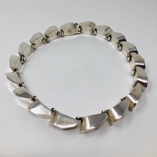 TAXCO TAXCO 222.3g sterling silver collar necklace Image 4