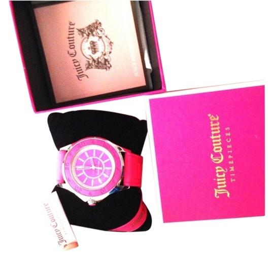 Preload https://item3.tradesy.com/images/juicy-couture-hot-pink-and-fabulous-watch-2193382-0-0.jpg?width=440&height=440