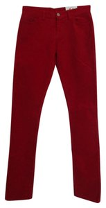 Lacoste Skinny Pants Red