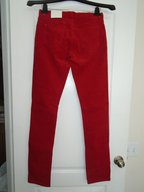 Lacoste Skinny Pants Red Image 1