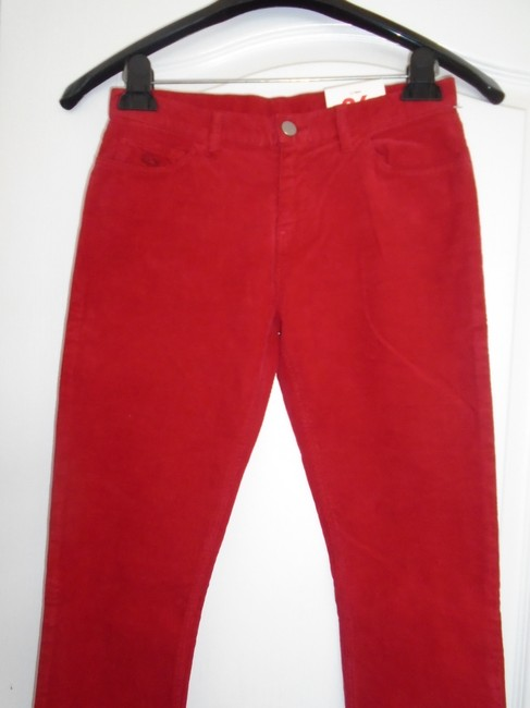 Lacoste Skinny Pants Red Image 2