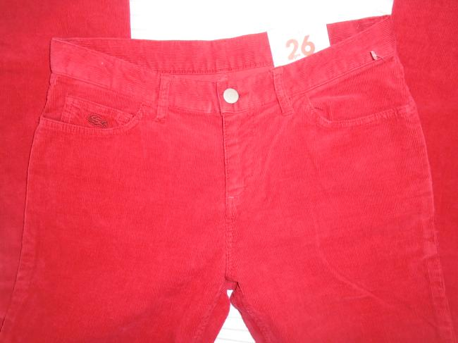 Lacoste Skinny Pants Red Image 4