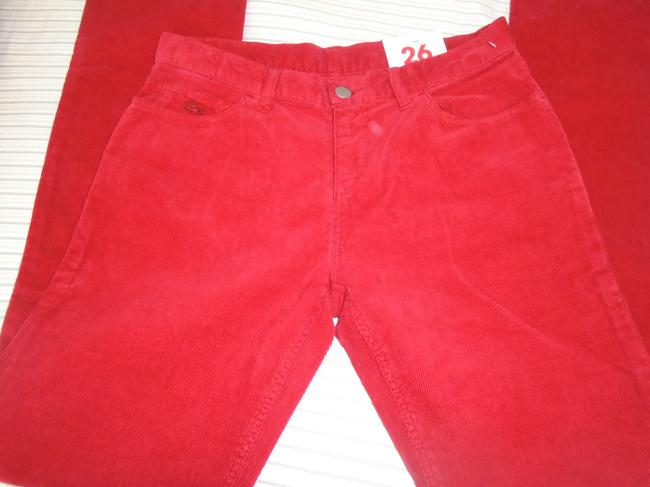 Lacoste Skinny Pants Red Image 5