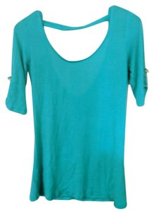 Charlotte Russe T Shirt Blue green