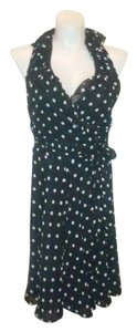 Ralph Lauren short dress Black & White Polka Dot on Tradesy