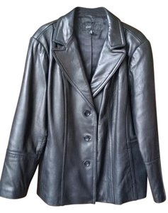 Avanti Lambskin Leather Coat