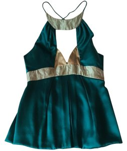 Nicole Miller Top turquoise/ teal