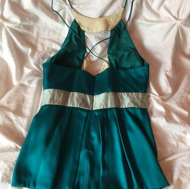Nicole Miller Top turquoise/ teal Image 2