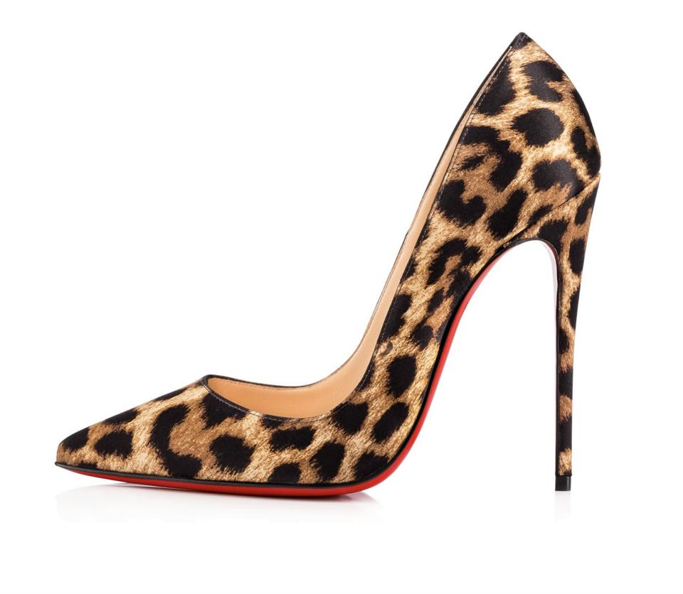 1f6ad637d75 Christian Louboutin Brown So Kate 120mm Crepe Satin Leopard Heels A200  Pumps Size EU 38 (Approx. US 8) Regular (M, B) 9% off retail