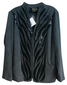 Bob Mackie gray Jacket