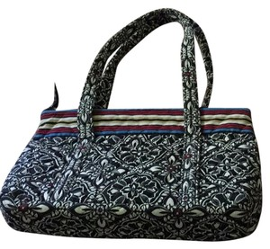 Vera Bradley Pet Smoke Free Tote in Black White Multi 7093998527cad