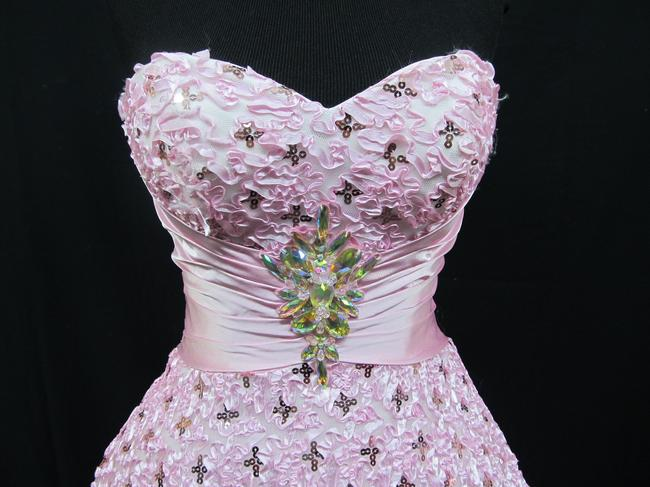 Precious Pageant Homecoming Dress Image 3