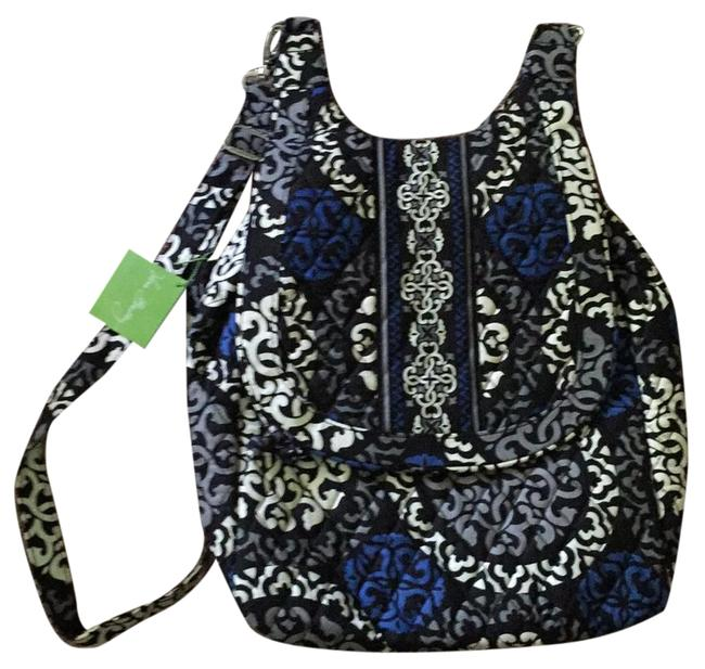 Item - 13033-151 Canterberry Cobalt (Blue White Gray Black) Cotton Backpack