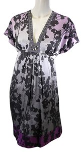 Hale Bob Silk Studded Dye Tie Dye Dress