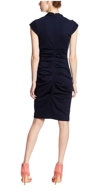Nicole Miller Viscose Bodycon Couture Fitted Dress
