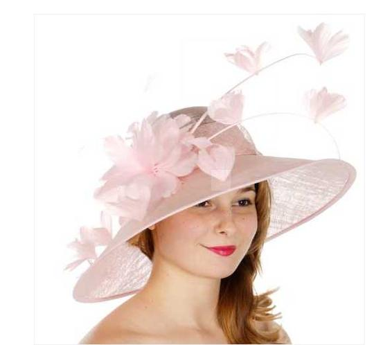 kentucky derby hat New Formal Flower Sinamay Hat Kentucky Derby Dressy Church Image 1