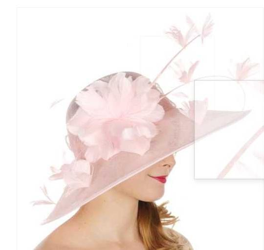 kentucky derby hat New Formal Flower Sinamay Hat Kentucky Derby Dressy Church Image 2