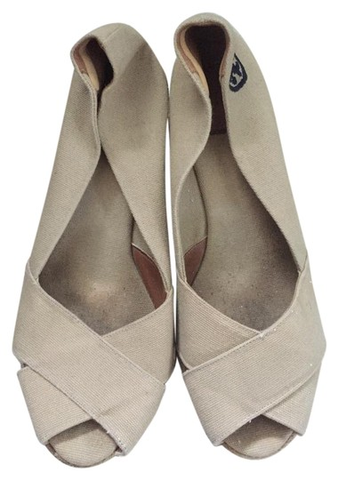 Tory Burch Beige Wedges Image 0
