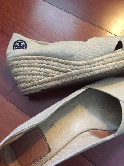 Tory Burch Beige Wedges Image 2