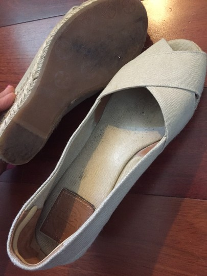 Tory Burch Beige Wedges Image 3
