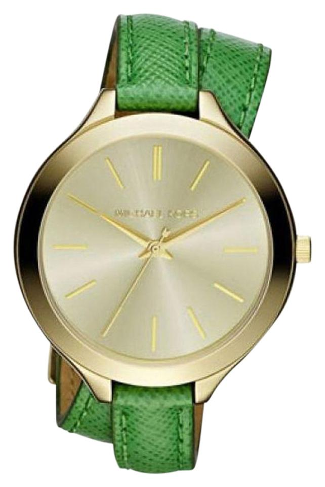 795bcc143acd Green Michael Kors Watches - Up to 70% off at Tradesy