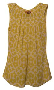 Tory Burch Oversized Silk Sleeveless Small Tunic