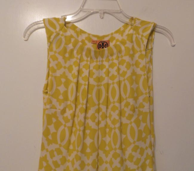 Tory Burch Oversized Silk Sleeveless Small Tunic Image 1