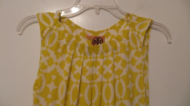 Tory Burch Oversized Silk Sleeveless Small Tunic Image 2
