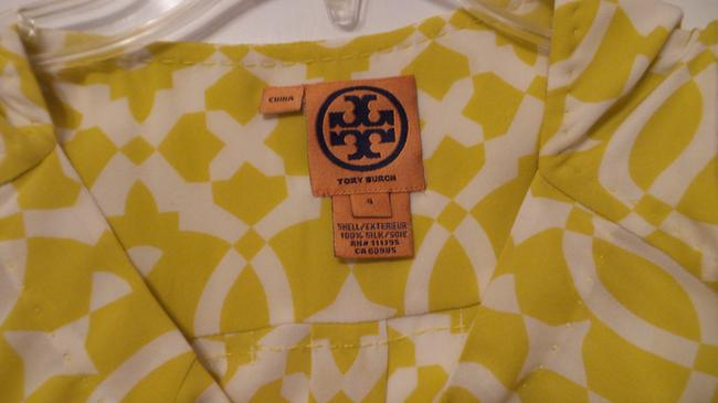 Tory Burch Oversized Silk Sleeveless Small Tunic Image 3