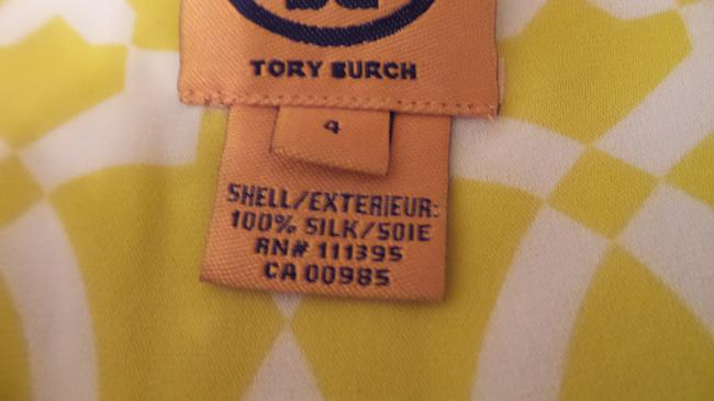 Tory Burch Oversized Silk Sleeveless Small Tunic Image 4
