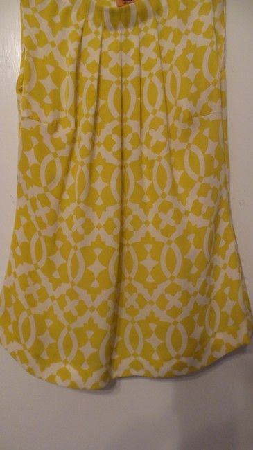 Tory Burch Oversized Silk Sleeveless Small Tunic Image 5