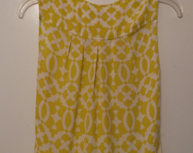 Tory Burch Oversized Silk Sleeveless Small Tunic Image 6