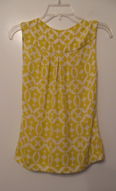Tory Burch Oversized Silk Sleeveless Small Tunic Image 8