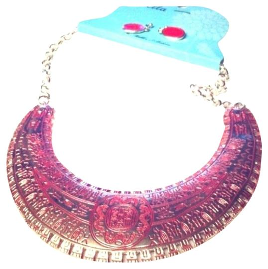 Other Statement Gorgeous Silver tone Aztec tribal