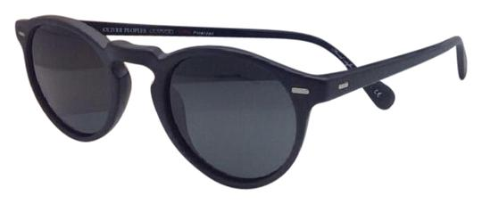 Oliver Peoples Polarized OLIVER PEOPLES Sunglasses GREGORY PECK 5217-S 1031/P2 Black Image 0