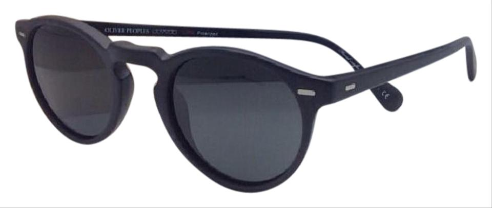 a7c7d3c61d3a Oliver Peoples Polarized OLIVER PEOPLES Sunglasses GREGORY PECK 5217-S  1031 P2 Black Image ...